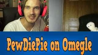 PewDiePie on Omegle!? | Omegle Funny Moments ft. Cr1TiKaL