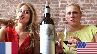 Judgement of Paris: USA v FRANCE Wine Taste Test - Napa, CA