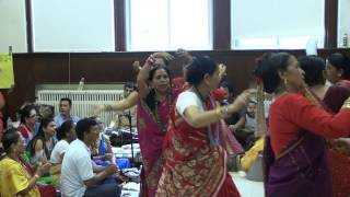 nepali bhajan shiva nachera in Concord, NH USA ( Beautiful Shiva Bhajan)