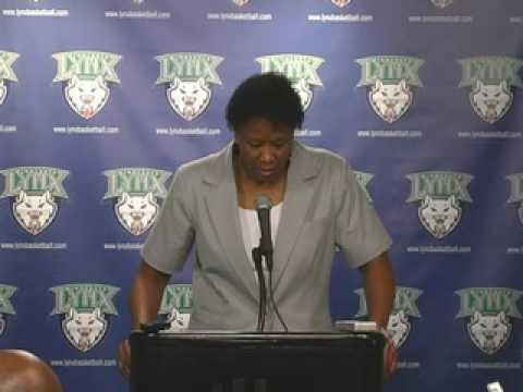 Post Game Audio with Coach Gillom: Minnesota Lynx vs. Washington Mystics 7-7-09