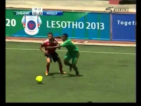 CARLINHOS (Carlos do Carmo) - Sub 21 Angola - COSAFA 2013 best player
