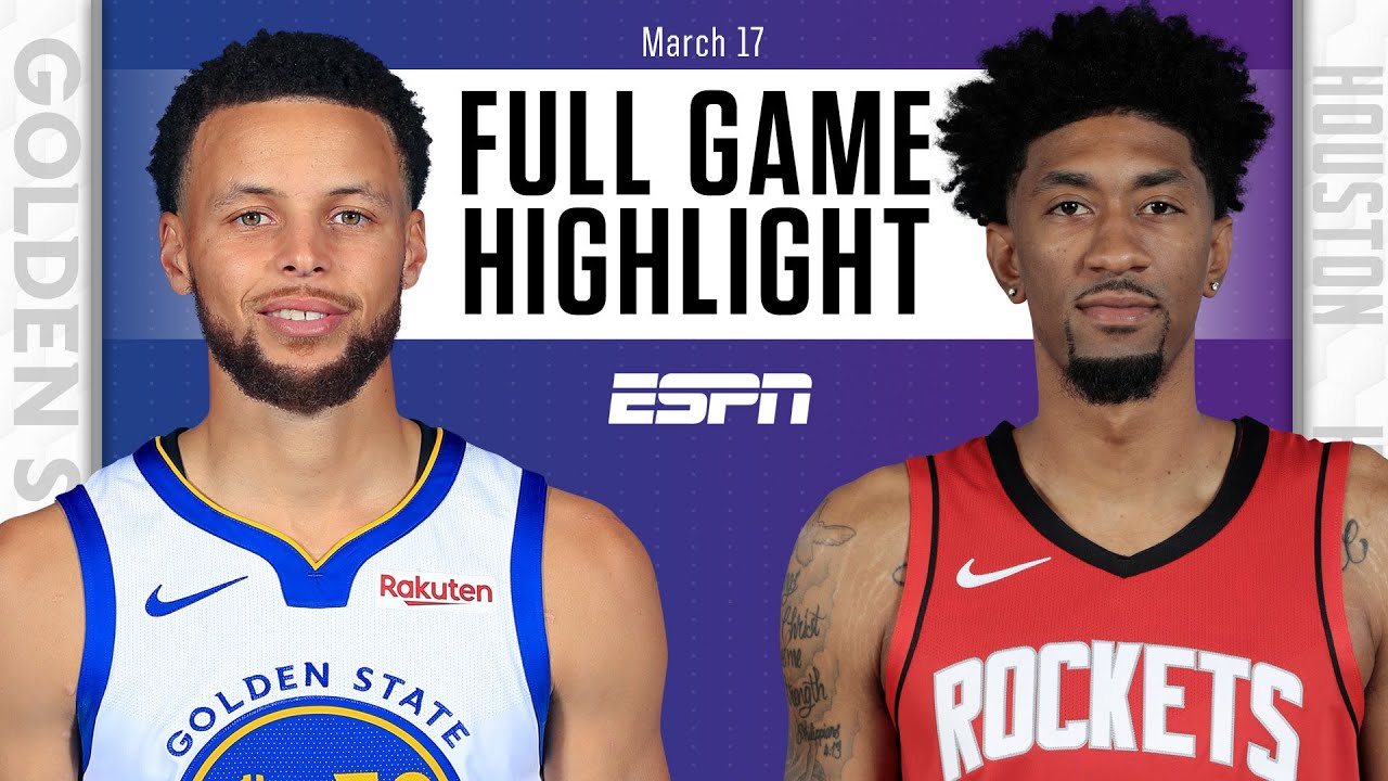 Golden State Warriors vs. Houston Rockets [FULL GAME HIGHLIGHTS] | NBA on ESPN