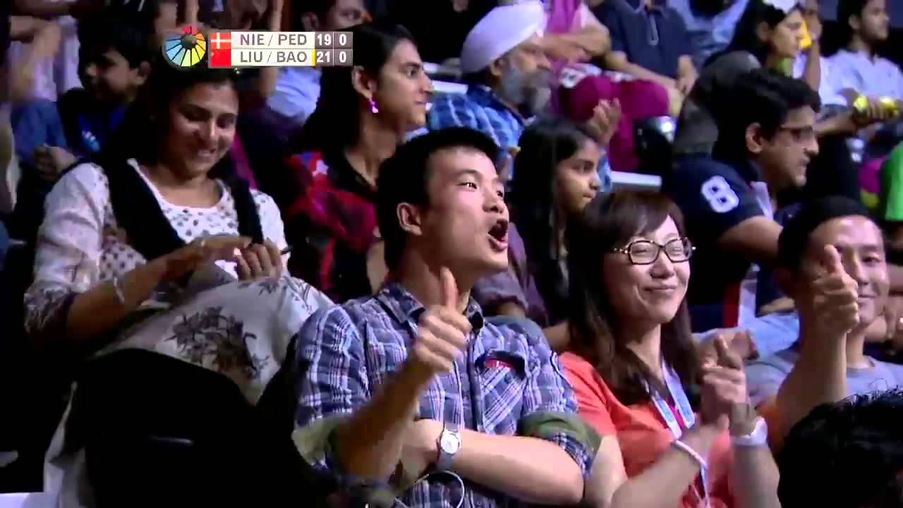 F 2015 India Open Super Series Liu Cheng Bao Yixin vs Joachim