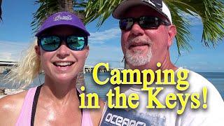 Camping in the FL Keys, Big Pine Fishing Lodge