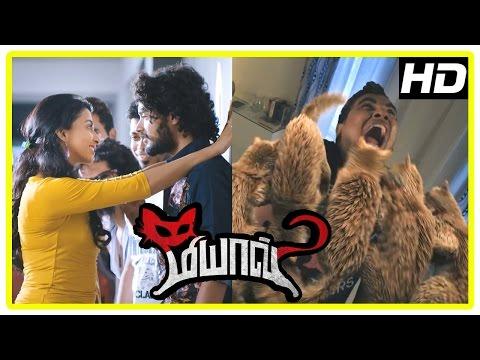 Meow Movie Scenes | Urmila Gayathri warns Raja and his friends | Sanjay found lifeless | Yuvina