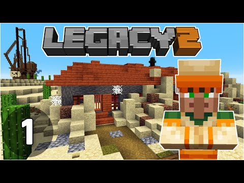 Starting a New World! - Legacy SMP 2: #1 | Minecraft 1.16