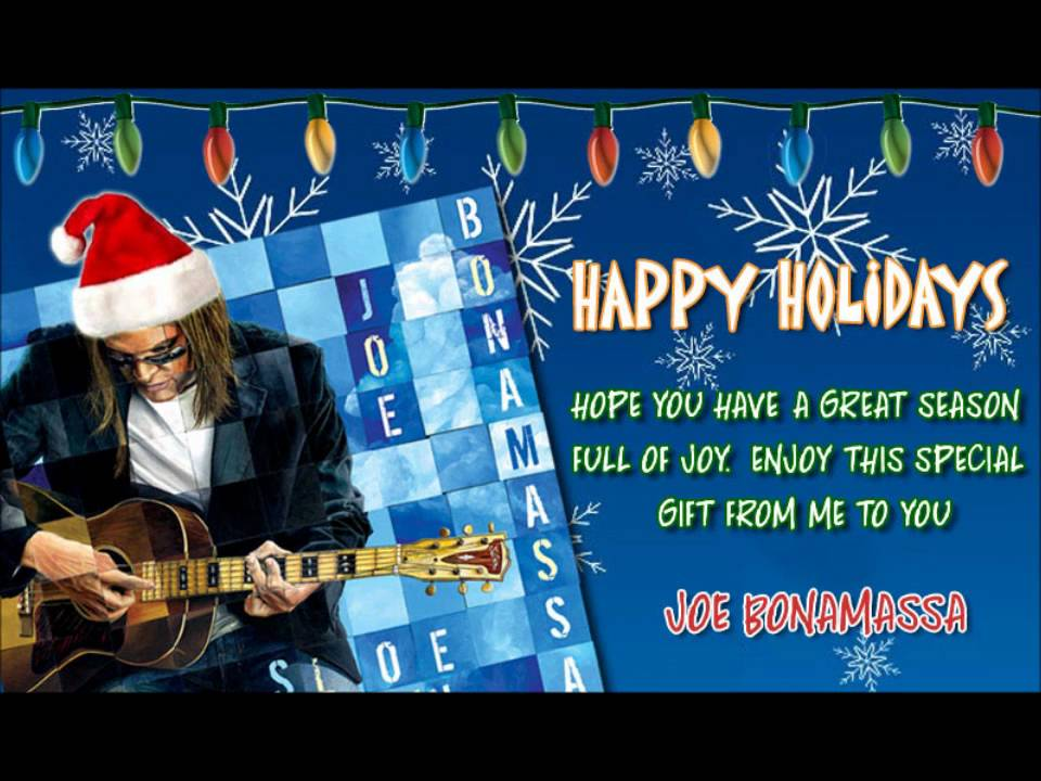 Joe Bonamassa - Merry Christmas Baby - YouTube