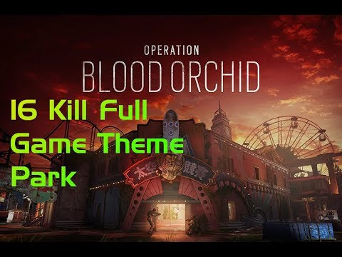 16 Kill Game on Theme Park! New Ops! Pro KingGeorge