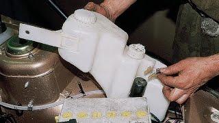 Бачок стеклоомывателя, датчик, электродвигатель.  ВАЗ 2110-2112.(, 2014-10-09T17:21:40.000Z)