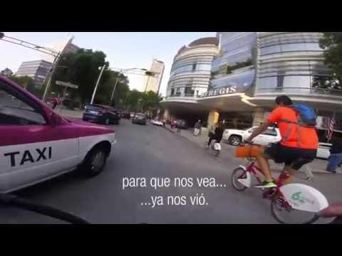 Ciclismo urbano en la CDMX