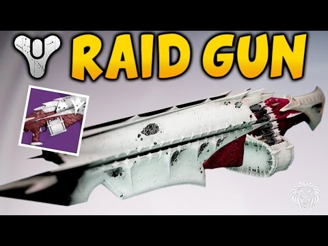 Destiny: QULLIMS TERMINUS GAMEPLAY! Kings Fall Raid Machine Gun Review (Kings Fall Raid Weapons)