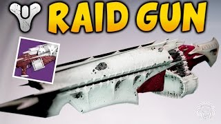Destiny: QULLIMS TERMINUS GAMEPLAY! Kings Fall Raid Machine Gun Review (Kings Fall Raid Weapons)