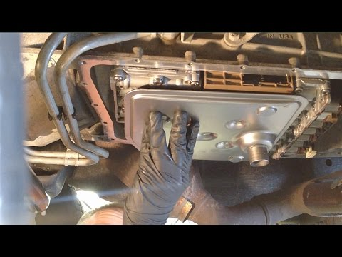 Ford CD4E 4 Speed Transmission: Fluid Change Procedure
