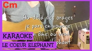 Fréro Delevega - Le coeur éléphant (Paroles, accords et karaoké) Frank Cotty
