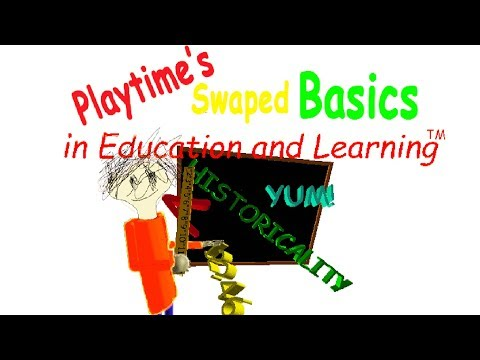 Playtime's Swapped Basics Is Such A HILARIOUS Mod!   Baldi's Basics Mod Gameplay