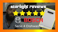 Bosch Serie 4 Dishwasher Review