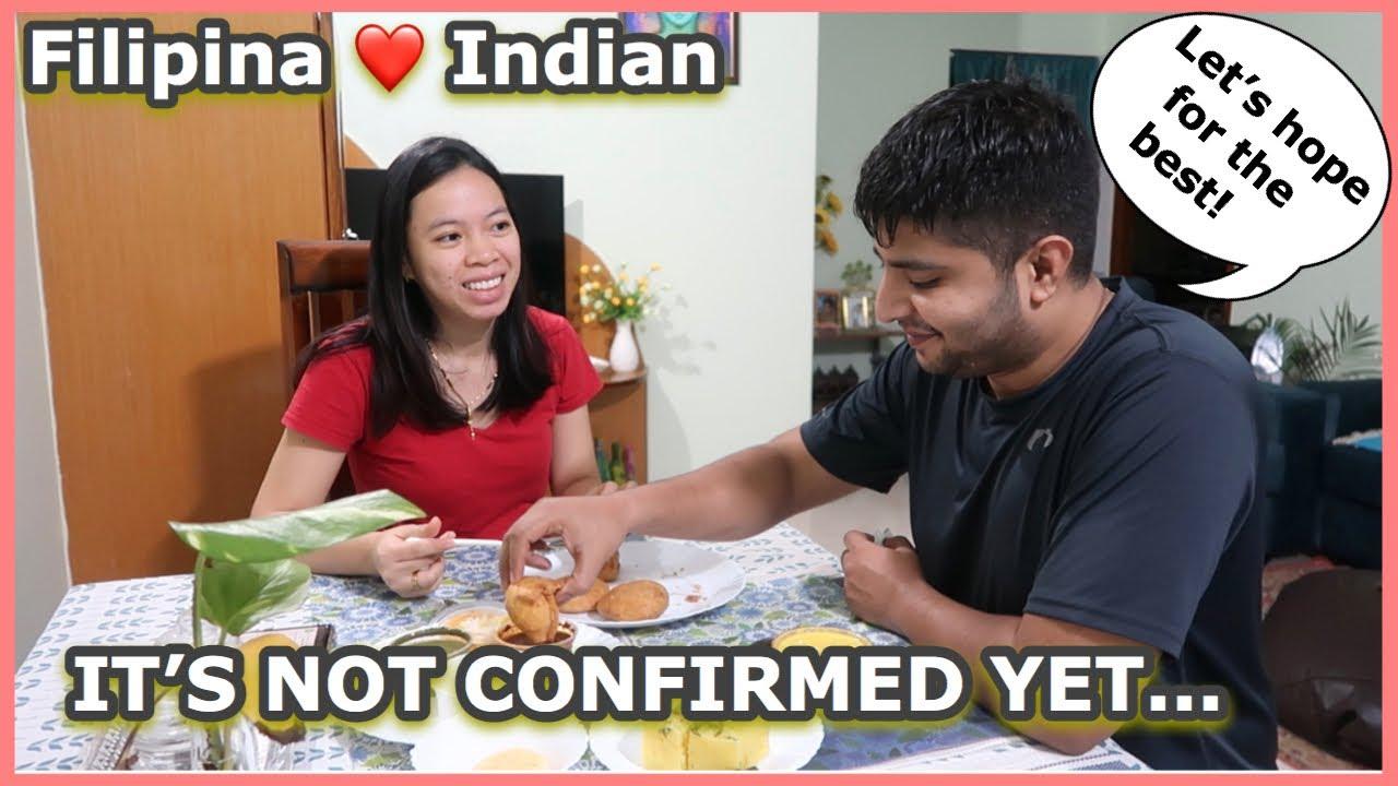 ITO NA ANG BALITANG HINDI PA SIGURADO... WE ARE HOPING FOR THE BEST 🙏   Filipina Indian couple