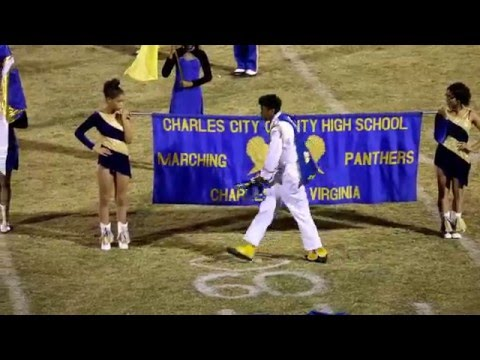 Charles City High School Marching Band Performance on 11-16-2015