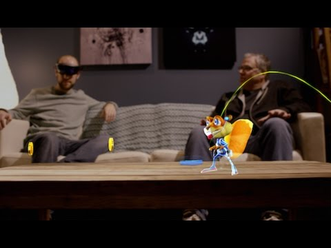 Microsoft HoloLens: Young Conker