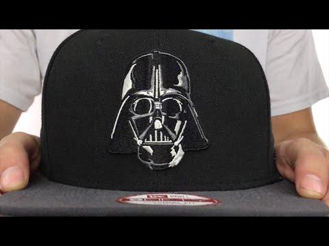 14f4e9fd8a658 Darth Vader  QUARTER-SUB SNAPBACK  Black-Grey Hat by New Era - YouTube