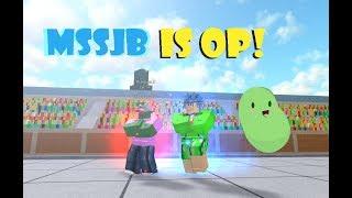 MSSJB IS OP!? | Roblox: Dragon Ball Z Final Stand