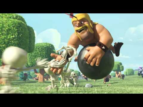 HK - Clash Of Clans 部落衝突 COC - Flight Of Barbarian (E)