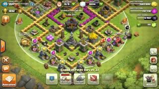 Clash of clans: Clan wars is gestart: Mijn 2de aanval + Clan bijna vol!!