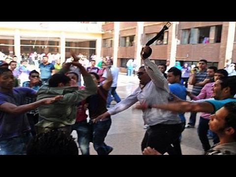 Dubai street fight