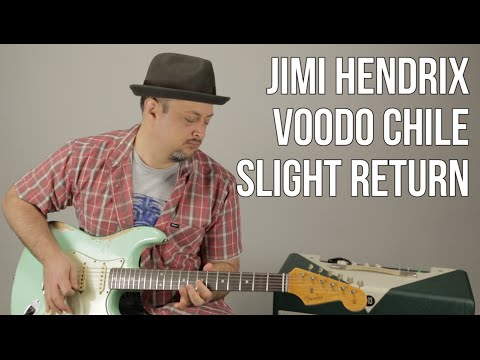 Jimi Hendrix - Voodoo Child (Slight Return) Stevie Ray Vaughan - Guitar Lesson How to Play Blues