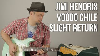 Jimi Hendrix - Voodoo Child (Slight Return) Stevie Ray Vaughan - Guitar Lesson How to Play Blues
