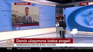 CANLI YAYIN / İstanbul'a kar geliyor / 24 TV / 1 Aralık 2017