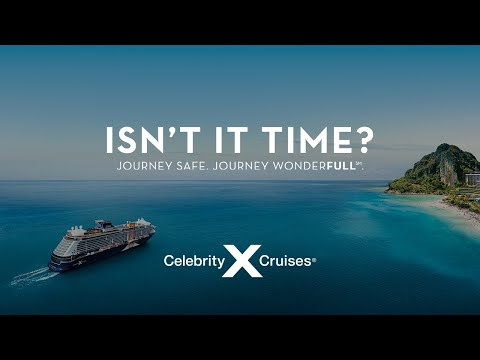 New ad campaign from Celebrity Cruises