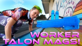 Katana Competition?! Nerf Worker Talon Mag Review