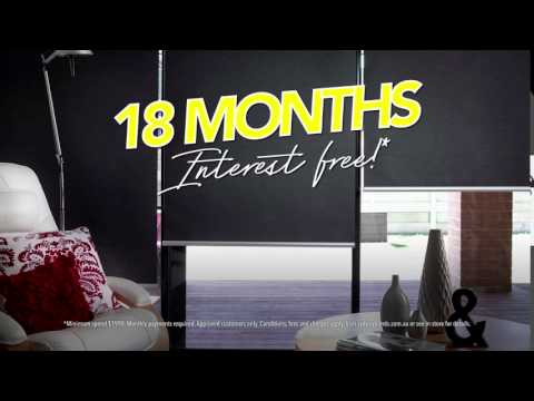 Sydney Blinds & Screens TVC February 2017 - 18 Months Interest Free