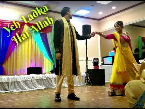 Yeh Ladka Hai Allah | Bollywood Sangeet Performance | April 2017
