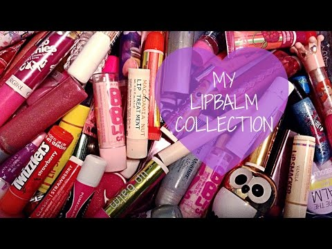 My Lipbalm Collection