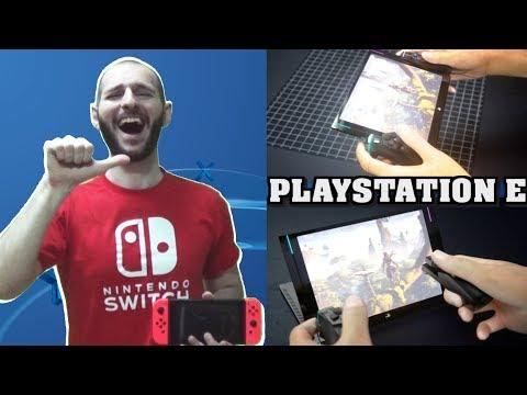 ¡¡¡PLAYSTATION E: LA SWITCH CUTRE DE SONY!!! - Sasel - Ps4 portátil E3 2017 - Noticias - Español