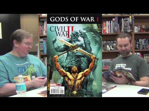 Alter Ego Comics TV #250: More Civil War! More DC Rebirth! Sherlock! Lumberjanes! Hercules?