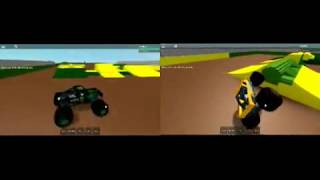 Monster Jam Roblox Youtube Series: World Finals Racing