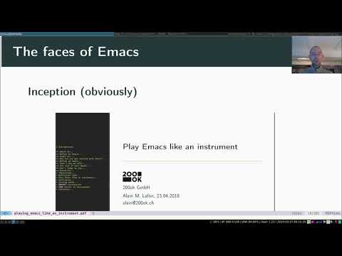 Play Emacs Like An Instrument - Teaser