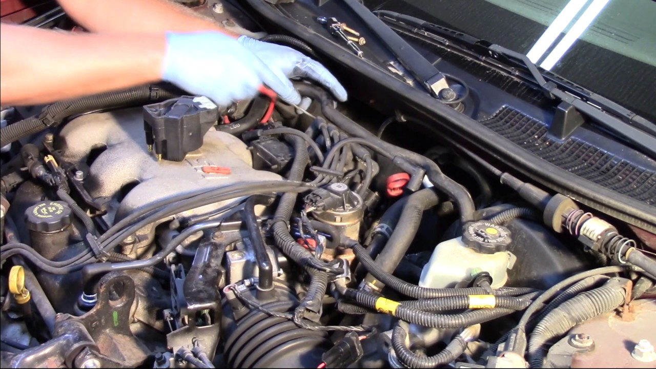 Ignition Coil Replacet - GM 3100 - YouTube