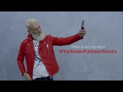 Yorkdale Fashion Santa Selfie