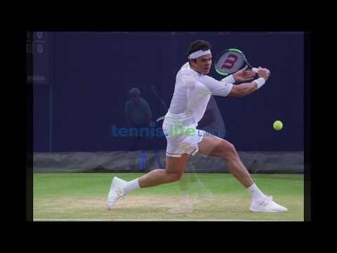 Milos Raonic to Queen's second round