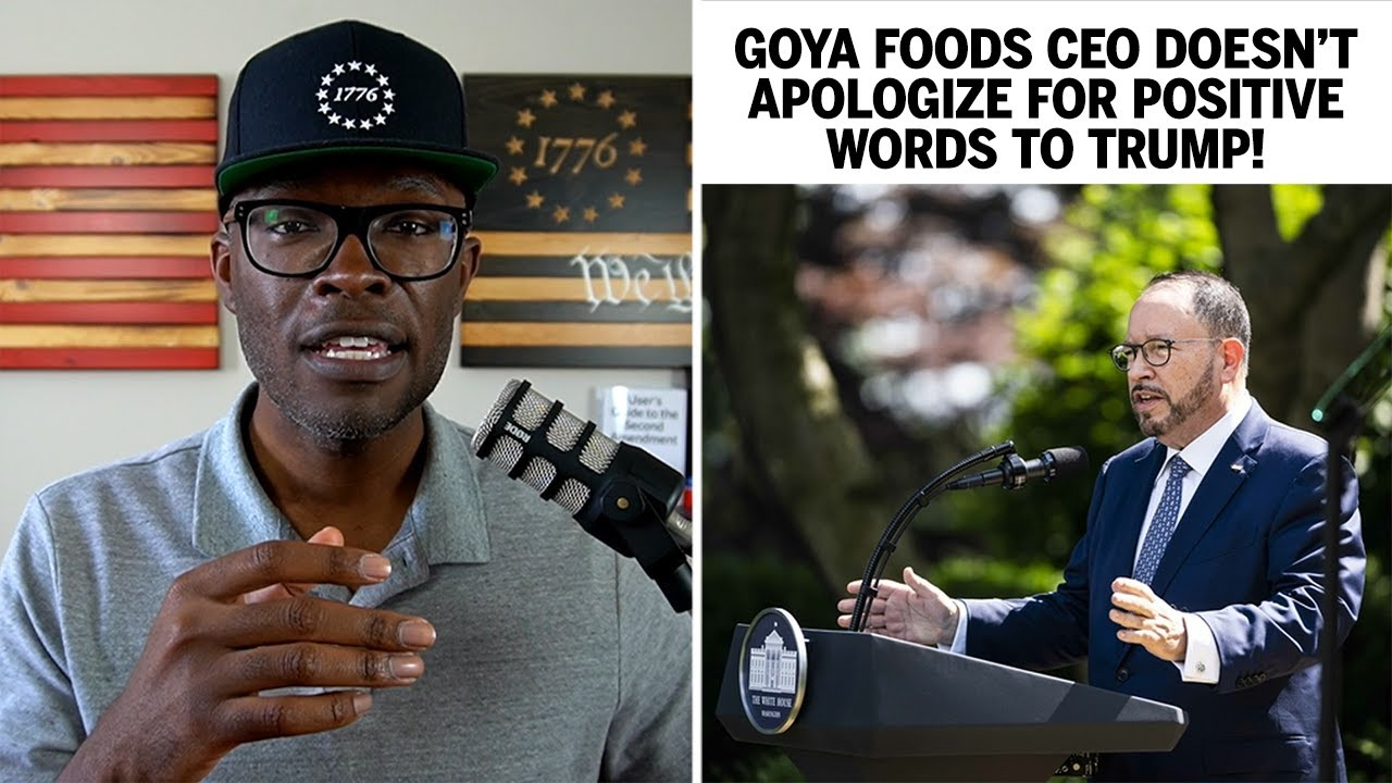 Goya CEO REFUSES To Back Down After Trump Praise!