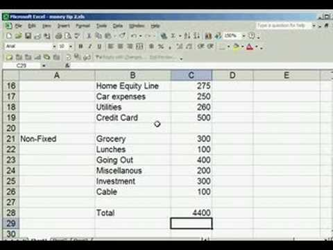 Money Tips from Kash - Setup a Personal Budget Today - YouTube