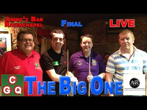 Eightball Pool from Wexford - The Big One Final Day, Elite Knockout, Jimmyz Bar