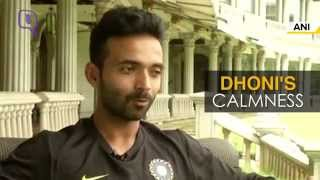 Ajinkya Rahane Talks About His Captains