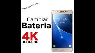 Cambiar bateria Huawei P8 lite