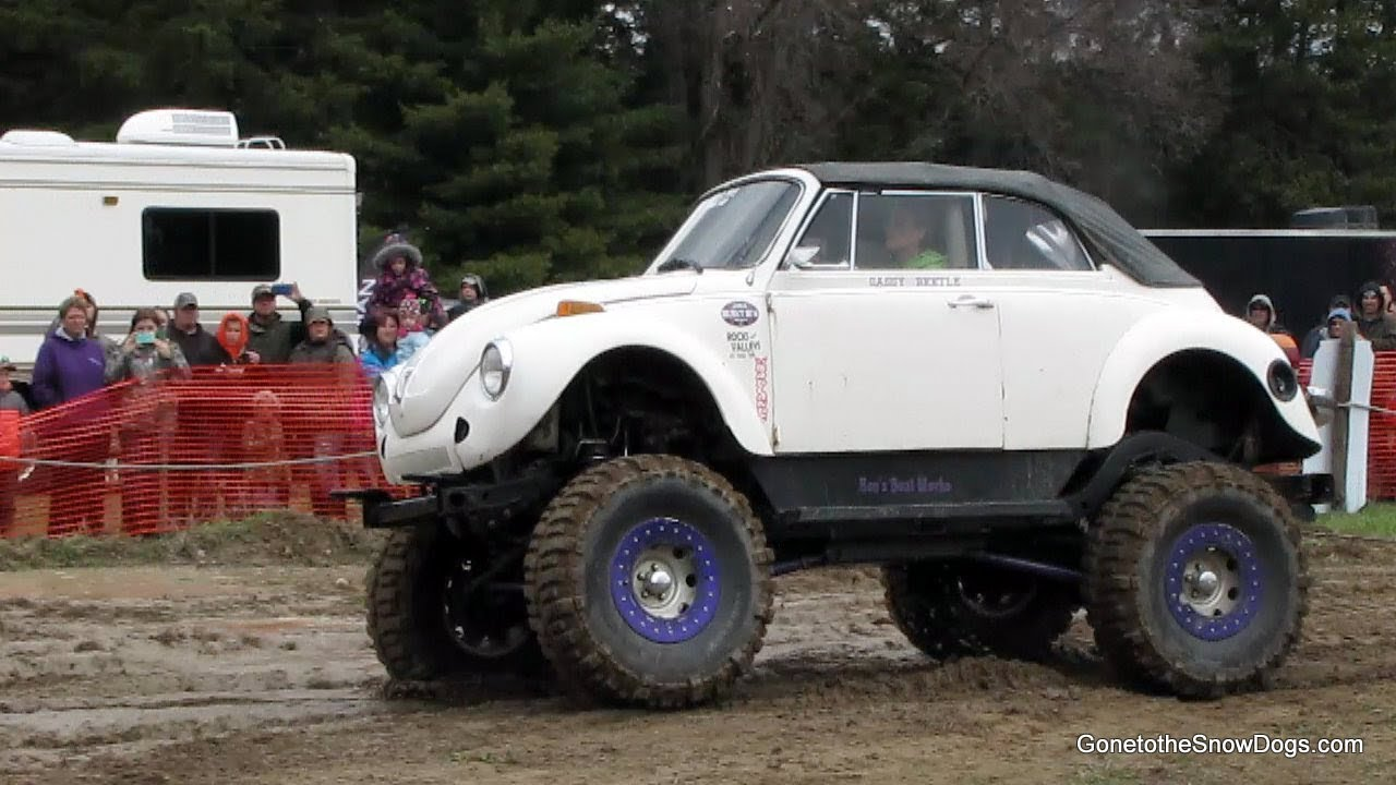 Lifted Vw Beetle Blessing Of The Jeeps Mud Pit