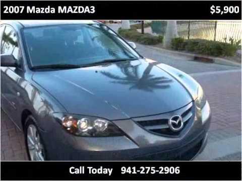 2007 mazda mazda3 used cars bradenton florida youtube for Srq motors bradenton fl
